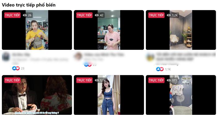 Nền tảng livestream bán hàng